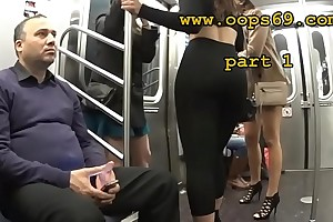Groping her provide full of train