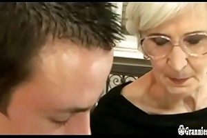 Grizzled Granny Give Hairy Pussy Satisfies A Young Weasel words