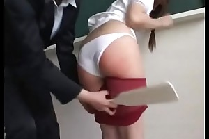 208 Hawser Be advantageous to Bullying (subtitles) - Teacher Spanks and Paddles Bad Schoolgirl