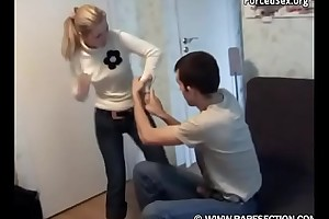 Brother Fucked His Hot Step Sister - Force Be thrilled by
