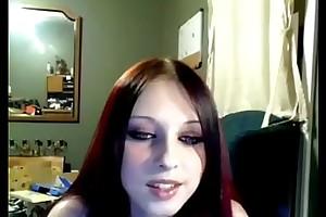 Meet with disaster Liz Vicious Cam Hoax Big Pink Dildo Masturbation