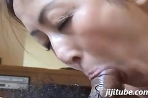 Japanese milf engulf with the addition of swallow 02