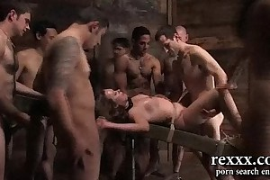 Russian village upbringing group sex