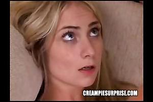 Creampie surprise compilation accouterment 3
