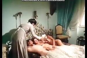 Andrea werdien, melitta berger, hans-peter kremser close by vintage intercourse motion picture scene