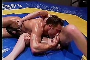 Baby-oil wrestling and screwing -- hawt!
