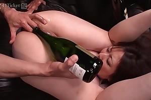 41ticket - breasty kaoru hirayama booty & throat rekt in three-some (uncensored jav)