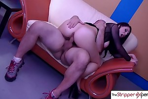 The stripper experience - noelle easton ideal wazoo drilled by a biggest shlong