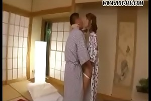 very hot japanese  gets fucked