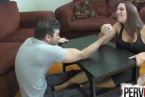 Diverge wrestling foundation job ballbusting femdom handjob