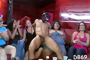 Pratty sweetheart gets drilled winning of her friends.