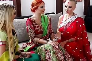 Pre-wedding indian helpmeet up ceremony