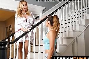 LesbianCums.com: Riley Reid Seduced by Lickerish Step Mammy