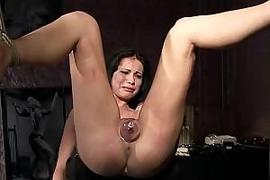 Thieves deserves cruel punishments.BDSM movie.Hardcore slavery sex.