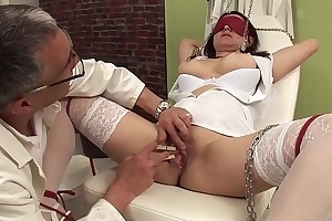 bosomy nurse bizarre fetish banged