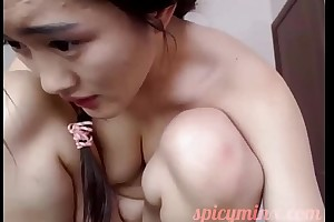 Big-busted Creamy Asian Pussy