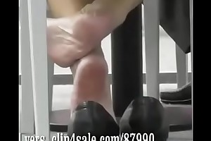 Cams4free.net - Candid Shoeplay blue ingenuous soles