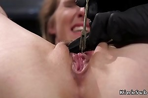 Fair-haired born to put up master gets tornmented