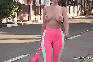 Cameltoe - i wore taut yoga pantalettes in public